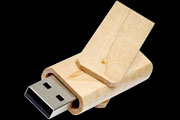 Chiavetta USB Rotating Wood